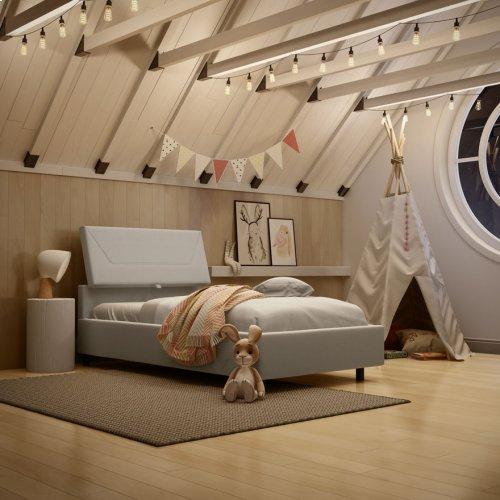 Surrey Upholstered Bed - Kid
