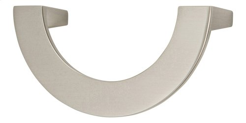 Roundabout Pull 3 Inch (c-c) - Brushed Nickel