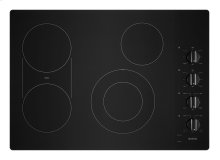 30-Inch Electric Cooktop with Reversible Grill and Griddle