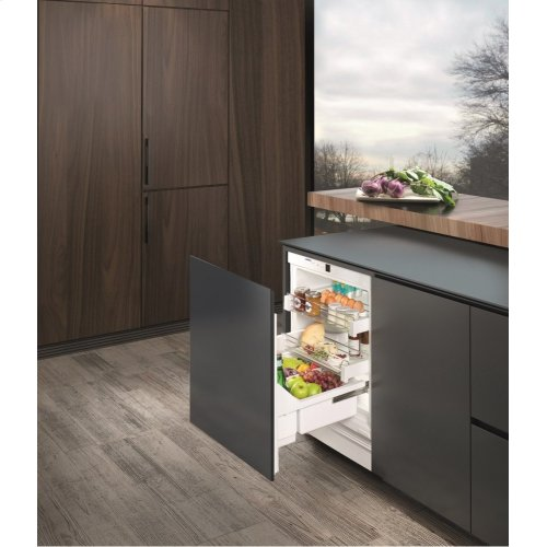 """***DISPLAY MODEL CLOSEOUT*** 24"""" Under-worktop refrigerator for integrated use"""