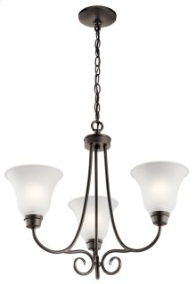 Bixler 3 Light Chandelier Olde Bronze®