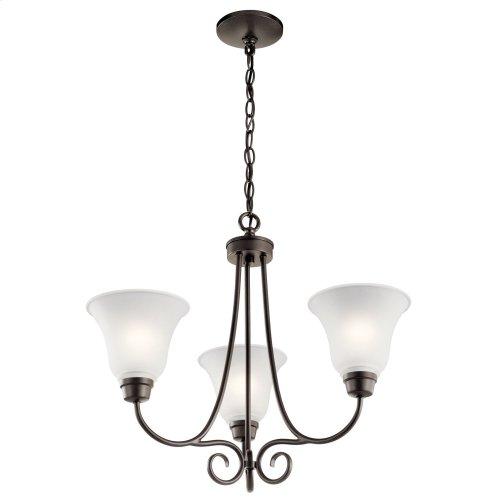 Bixler 3 Light Chandelier Olde Bronze®