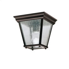 Outdoor Flush Mt 1Lt BK