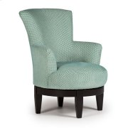 JUSTINE Swivel Barrel Chair Product Image