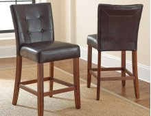 "Montibello Bar Chair,Dark Brown 19"" x 25"" x 45"""