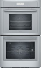 30-Inch Masterpiece® Double Steam Oven MEDS302WS Product Image