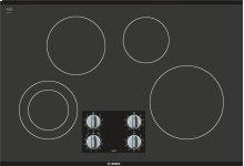 "500 Series 30"" Electric Cooktop 500 Series - Black Frameless NEM5066UC"