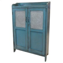 Punched Tin Cupboard