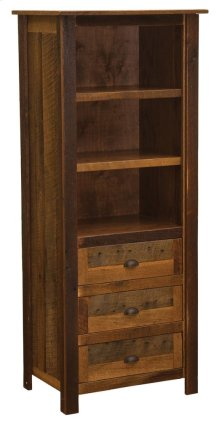 Open Pantry Antique Oak Top