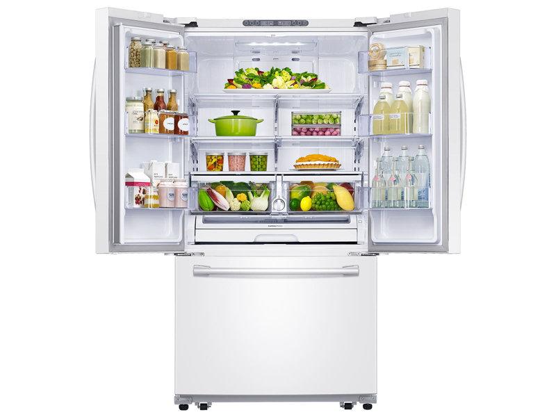 Rf261beaewwsamsung 26 Cu Ft French Door Refrigerator With Internal