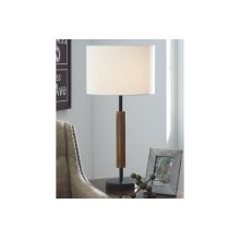 Wood Table Lamp (2/CN)