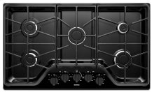 36-inch 5-burner Gas Cooktop with Power Burner
