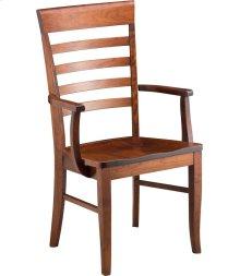 Burbank Arm Chair - Wood Seat