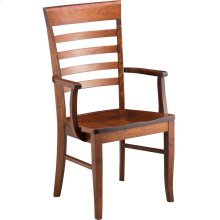 Burbank Arm Chair - Wood Seat