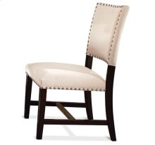Mix-N-Match Micro Fiber Parsons Chair Warm Tobacco finish
