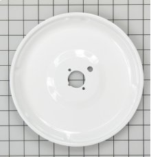 GAS WHITE PORCELAIN BURNER BOWL LARGE
