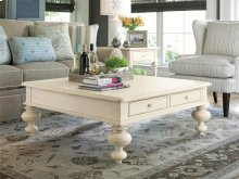 Put Your Feet Up Table - Linen