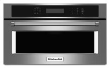 """27"""" Built In Microwave Oven with Convection Cooking - Stainless Steel"""