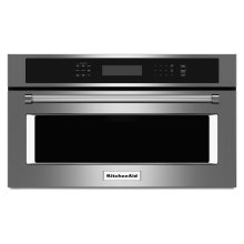 """27"""" Built In Microwave Oven with Convection Cooking - Stainless Steel(OPEN BOX CLOSEOUT)"""
