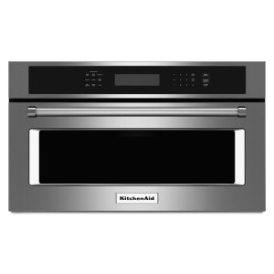 "KitchenAid27"" Built In Microwave Oven with Convection Cooking - Stainless Steel"
