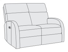 Maddux Power Motion Loveseat