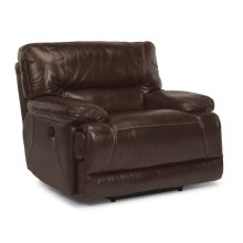 Fleet Street Leather Power Recliner