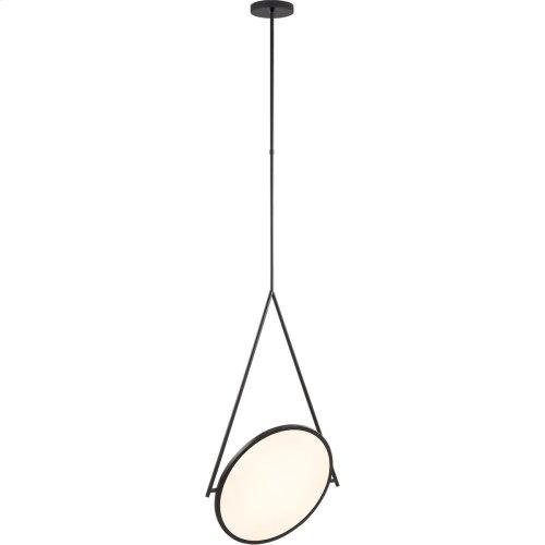 Visual Comfort PB5005MBK Peter Bristol Dot Stance LED 16 inch Matte Black Pendant Ceiling Light