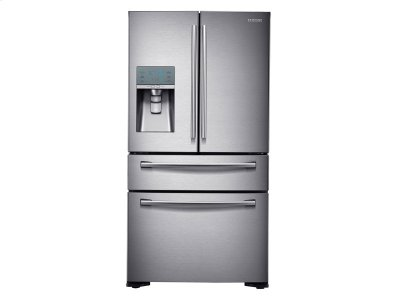 23 cu. ft. Counter Depth 4-Door Refrigerator with FlexZone Drawer Product Image