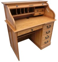 """42"""" Student Roll Top Desk Product Image"""