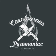 Carnivorous Pyromaniac Work Shirt
