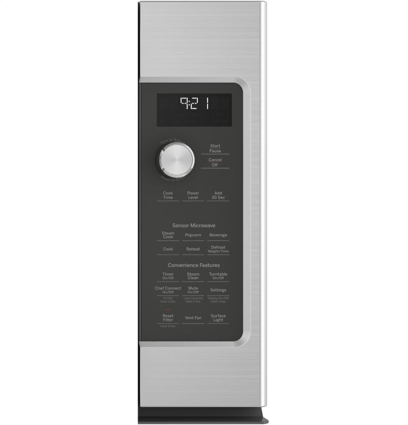 GE Cafe™ Series 2 1 Cu  Ft  Over-the-Range Microwave Oven