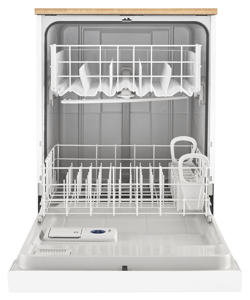 Wdp370pahw Whirlpool Heavy Duty Dishwasher With 1 Hour