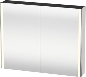 Mirror Cabinet, White High Gloss Lacquer
