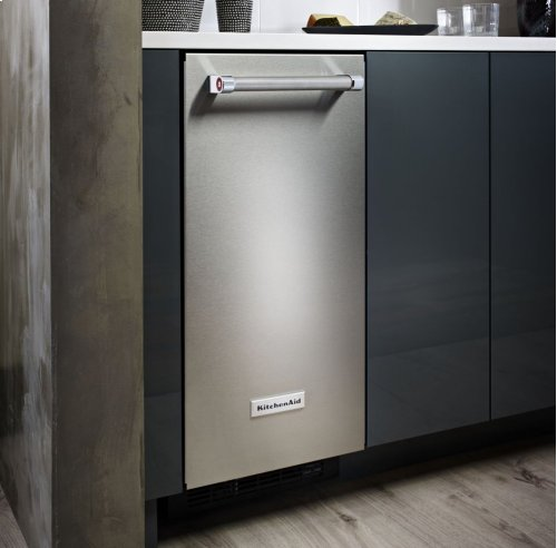 15'' Automatic Ice Maker - Stainless Steel