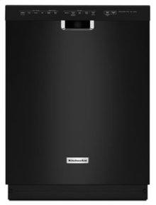 24'' 6-Cycle/5-Option Dishwasher, Pocket Handle - Black