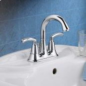 Tropic 2-Handle 4 Inch Centerset High-Arc Bathroom Faucet - Polished Chrome