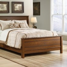 Queen Footboard With Rails