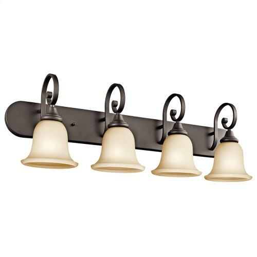 Monroe 4 Light Vanity Light with LED Bulbs Olde Bronze®