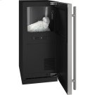 """3 Class 15"""" Nugget Ice Machine With Stainless Solid Finish and Field Reversible Door Swing, Pump Included (115 Volts / 60 Hz) Product Image"""