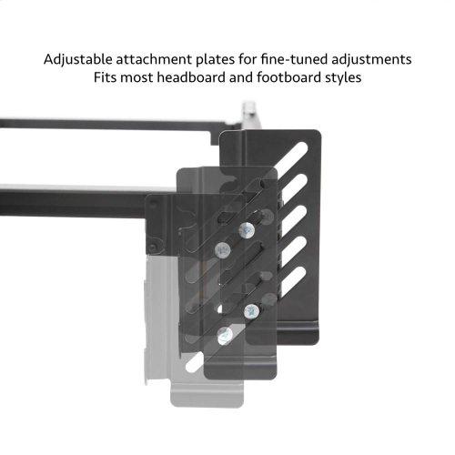 Steelock Adaptable Hook-In Headboard Footboard Bed Frame - Cal King