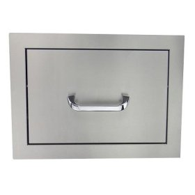 RCS Stainless Single Drawer - Fully Enclosed
