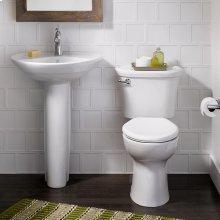 Ravenna 24 Inch Pedestal Sink - White