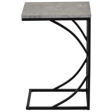 Darcy Accent Table in Cement