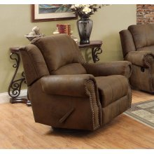 Sir Rawlinson Brown Swivel Rocking Recliner
