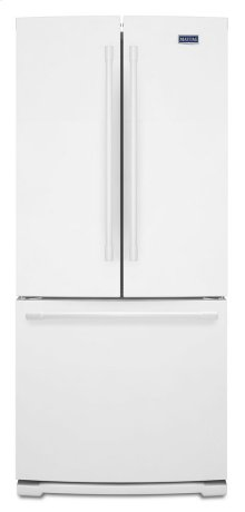19.6 cu ft French Door Refrigerator with Strongbox Door Bins