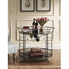 Naples Oval Serving Cart