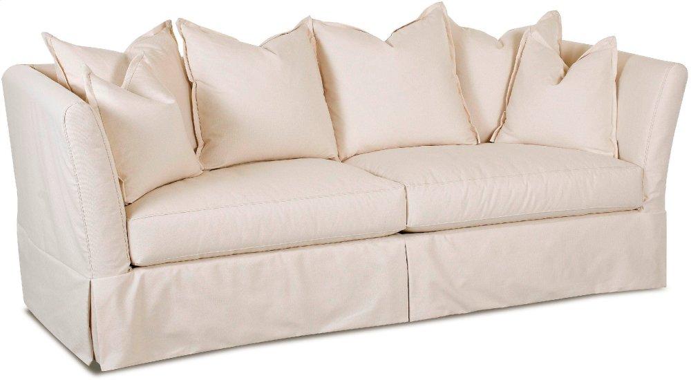Alexis Shabby Chic Slipcover Sofa