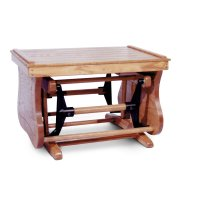 Bentwood Glider Ottoman Product Image