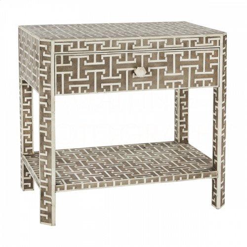 Gray Hermes Side Table
