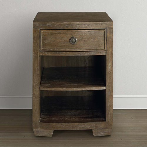 Compass Northern Grey Compass II Bedside Table
